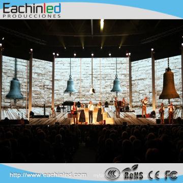 LED-Dekoration-schwarzer Stadiums-Hintergrund-Vorhang