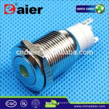 Daier LAS2-16F-11D bi-color llevó el interruptor de botón