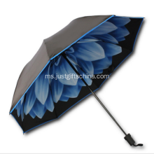 Personalized Double Folding Folding Umbrella - 95.5CM Arc