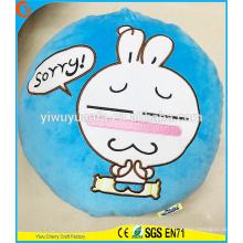 Hot Selling Finest Quality Novelty Design Tuzki Rabbit Plush Pillow