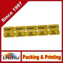 Tickets mit Tear-Away Stubs, 1 3-4 X 5 1-2, (420084)