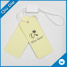 Cardboard Hangtag Wholesale Custom Logo Name Cardboard Hang Tag for Quilt