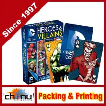 DC Comics heróis e vilões jogando cartas (430088)