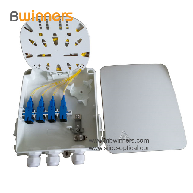 wall mount fiber optic terminal box
