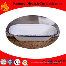 Sunboat Tableware Enamel Plate Enamel Baking Tray Butter Tray