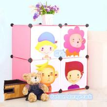 Estante de almacenamiento de dibujos animados populares para bebé