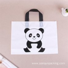 plastic bag with handle for shopping