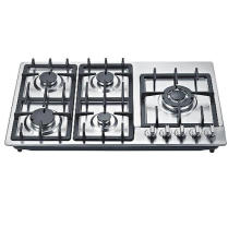 2016 New Model 5 Burner Gas Cooker/Gas Stove/Gas Hob