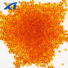 Color changing orange granular silica gel desiccant 0.5-1mm 2-4mm food grade silica gel bead for drying air