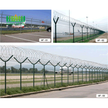 Hot Dip Galavnized High Quality airport safety mesh
