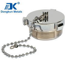Stainless Steel Fuel Tank Cap by Precision Casting