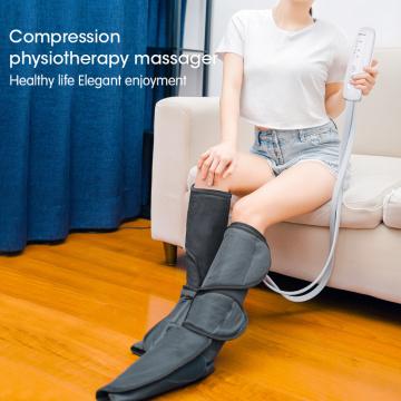 Портативный массажер для ног с воздушным сжатием с подогревом