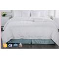 5Star Hotel 3cm Stripe White Bed Linen
