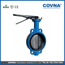 SS DIS Cast iron wafer butterfly valve