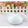 Customize logo ceramic tea pot , porcelain teapot , ceramic teapot