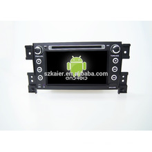 Cuatro núcleos! DVD de coche con espejo enlace / DVR / TPMS / OBD2 para 7 pulgadas de pantalla táctil de cuatro núcleos 4.4 sistema Android Suzuki Grand Vitara