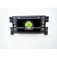Quad core! Voiture dvd avec lien miroir / DVR / TPMS / OBD2 pour 7 pouces écran tactile quad core 4.4 Android système Suzuki Grand Vitara