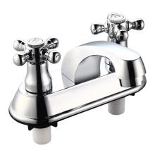 ABS Double Handle Basin Faucet Mixer (JY-018)