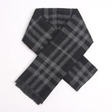 2021 New Hot Sale Winter Fashion Plaid Business Men's Neck Soft Warm Cashmere Scarf