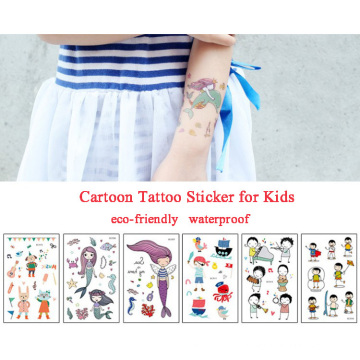 New Design Waterproof Personality Kids Body Tattoo Stickers