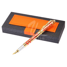 Гладкая письменная ручка с перьевым ручником