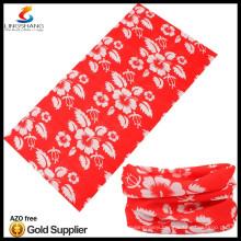 NINGBO LINGSHANG 100% polyester cheap wholesale custom tubular bandana custom made bandana