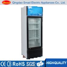 Vertical Beer Fridge, Glass Door Refrigerator, Display Showcase