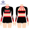 Custom Crop Cheer Uniformen