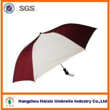 2014 en gros nouvelle mode 21 pouces 8 nervures manuel pliant ouvert 2 parapluies personnalisés