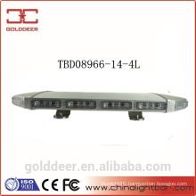 Aluminum Housing LED Mini Strobe Warning lightbar with Magnet feet (TBD08966-14-4L)