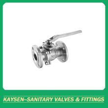 DIN Sanitary flanged ball valves manual