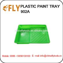 Bandeja de pintura plástica verde