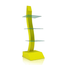 Strong Visual Effect Acrylic Floor Display Shelf