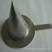 Acero inoxidable de malla de cono (tye-064)