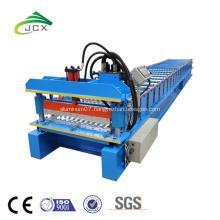 color coated corrugated sheet making machine