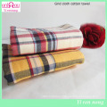 England Style Plaid Printed Cotton Towel