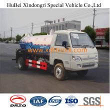 2cbm Foton Sewage Suction Truck Euro 4