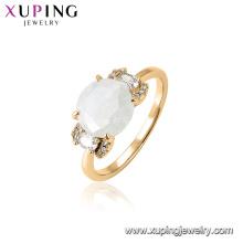 15455 xuping горячие продажи последний драгоценный камень дизайн фанки палец кольцо для женщин