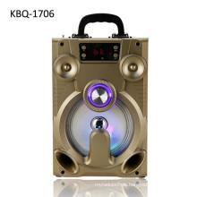 Made in China factory supply rechargeable big capacity li battery powered mutimedia karaoke bluetooth speaker