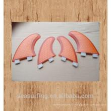 2016 nouveau design hex et Carbon FCS G5 Style Palmes de surf à vendre