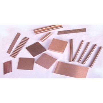 Feuille en tungstène Cooper Alloy / Tungsten Cooper haute qualité, Bar, Rod