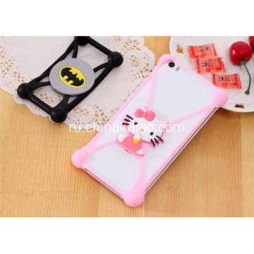 Silicone Cartoon Case Cover for Cell Phone