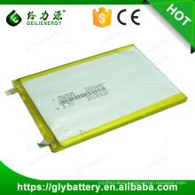 High capacity smart 2600mah 356595 3.7v Li-ion polymer battery li-polymer battery