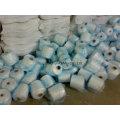 100 % polyester, vierge vierge, étroite, recyclé fibre discontinues de Polyester filé