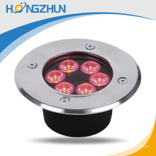 Hot sale outdoor 6w RGB led underground light with remote control made in china