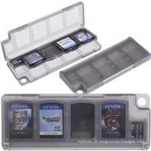 10 em 1 caso de cartão de caixa de armazenamento de material HEPD para Sony PS VITA PSV 1000 2000 Cartucho de suporte de memória