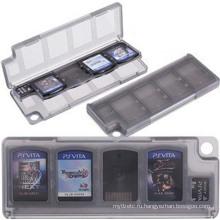 10 в 1 HEPD Материал Ящик для хранения карты Чехол для Sony ПС Vita ПСВ 1000 2000 памяти держатель картриджа
