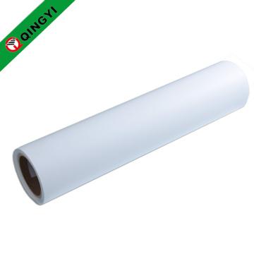 Vinil branco imprimível branco de transferência de calor do plutônio de QingYi
