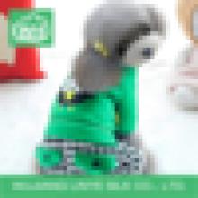 Зеленая клетчатая одежда для собак, заводская одежда для собак