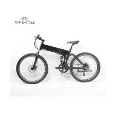 Suspensão completa 26inch hummer dobrável elétrica mountain bike bicicleta com bateria escondida